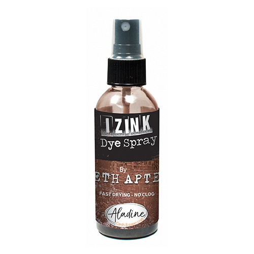 IZINK DYE SPRAY SETH APTER MARRON - COFFEE 80 ML - 2.7 Fl. Oz.