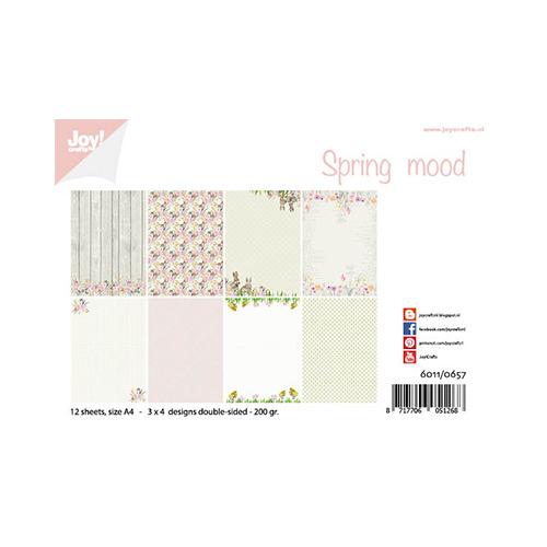 Papierset - Design - Spring mood