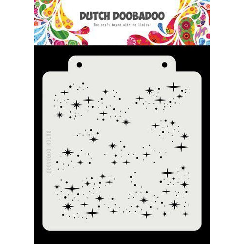 Dutch Doobadoo Dutch Mask Art Starry Night 163x148 470.715.148 (02-20)