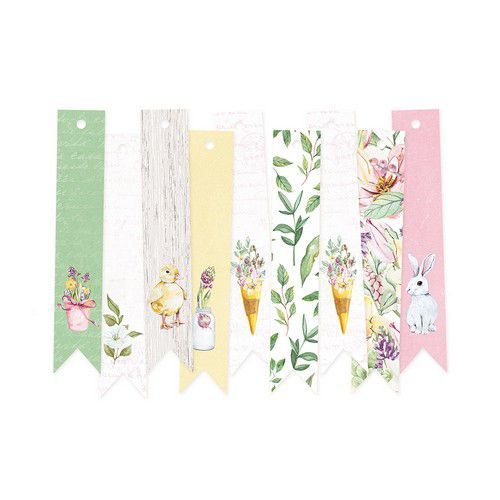 Piatek13 - Decorative tags The Four Seasons - Spring 03 P13-SPR-23 (02-20)