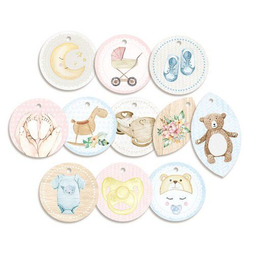 Piatek13 - Decorative tags Baby Joy 01 P13-BAB-21 (02-20)
