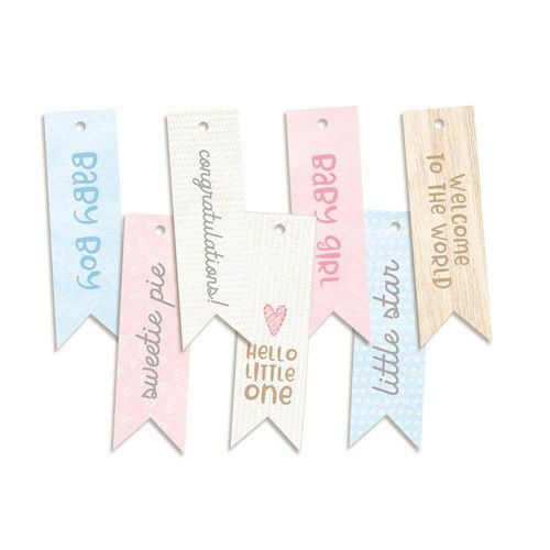 Piatek13 - Decorative tags Baby Joy 02 P13-BAB-22 (02-20)