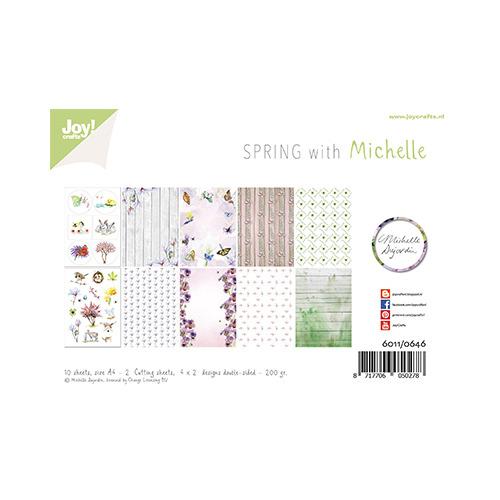 Papierset - Design - Lente met Michelle