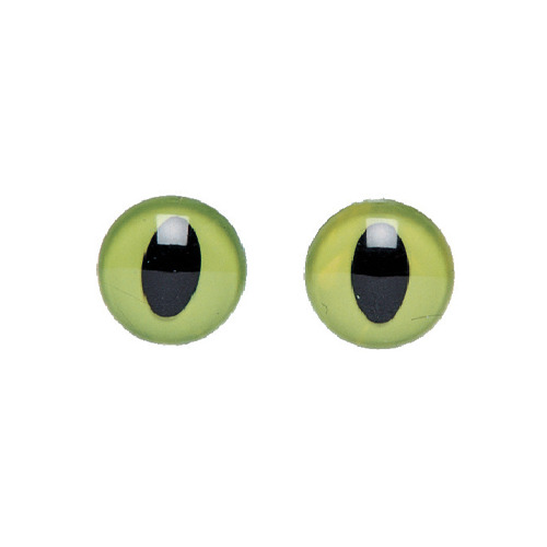 Plastic eyes, 12mm