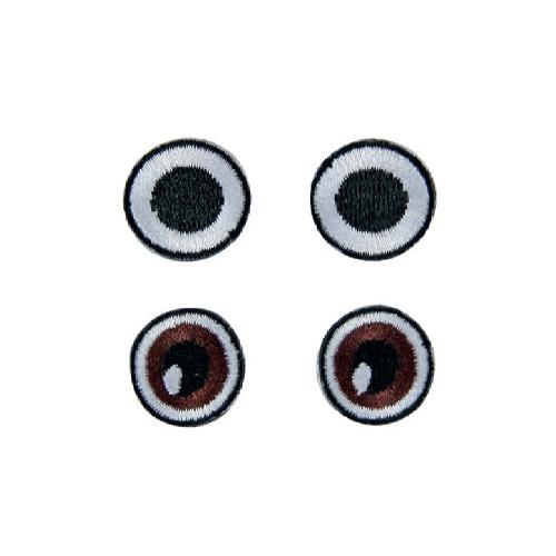 Fabric eyes, 20mm