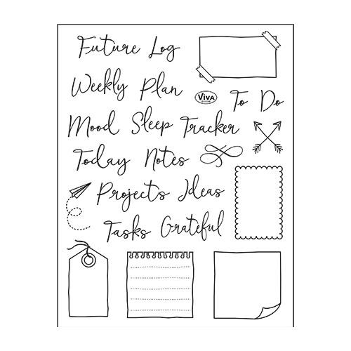 Bujo/Kalender Notes, Tracker & Co.