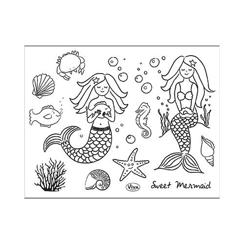 Süße Meerjungfrau