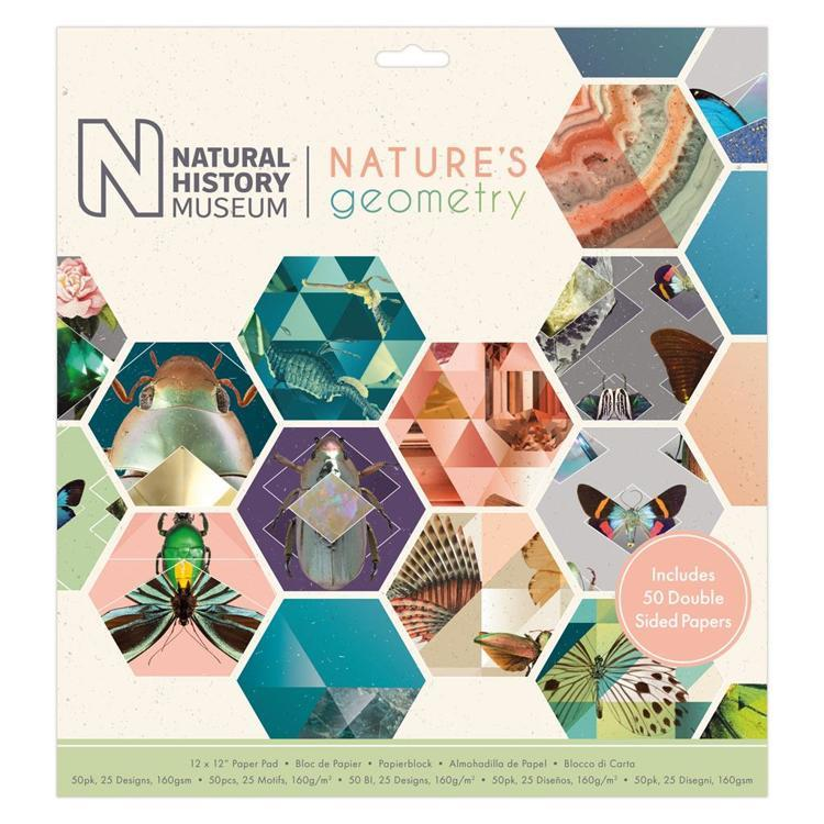 "12 x 12"" Paper Pad (50pk) - Nature's Geometry"