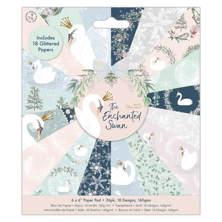 "6 x 6"" Paper Pad (36pk) - The Enchanted Swan"