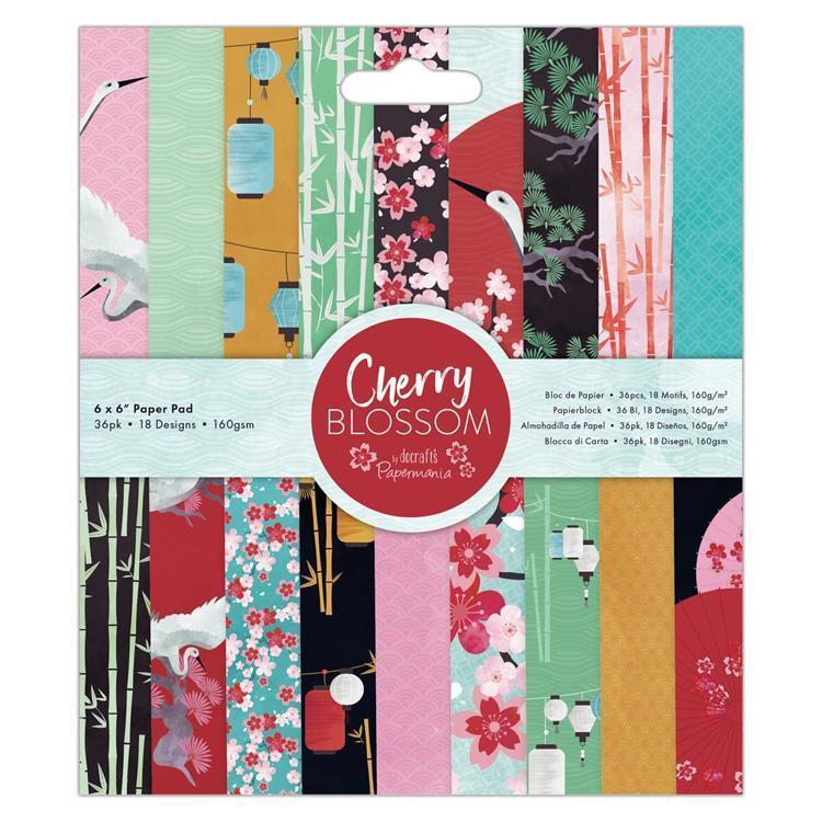 "6 x 6"" Paper Pad (36pk) - Cherry Blossom"