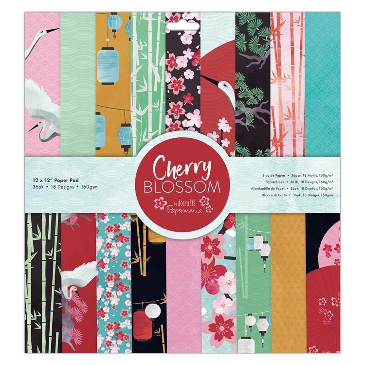 "12 x 12"" Paper Pad (36pk) - Cherry Blossom"