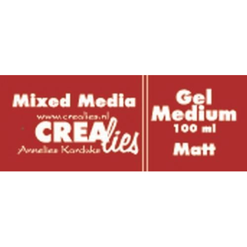 Crealies Mixed Media gel medium mat transparant 100 ml CLMM11 100 ml (03-20)