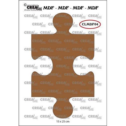 Crealies MDF puzzel koppelbaar CLMDF04 15 x 25mm (03-20)