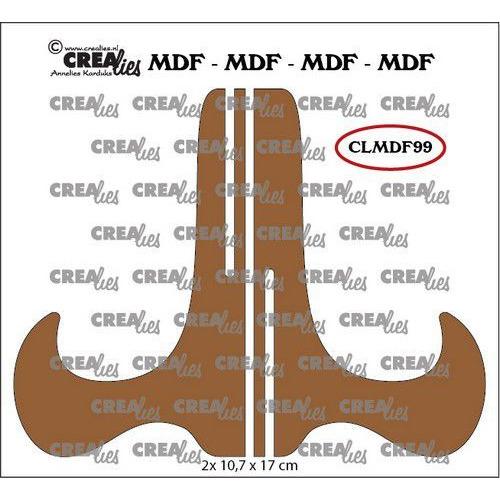Crealies MDF projecthouder CLMDF99 2x 10,7 x 17cm (03-20)