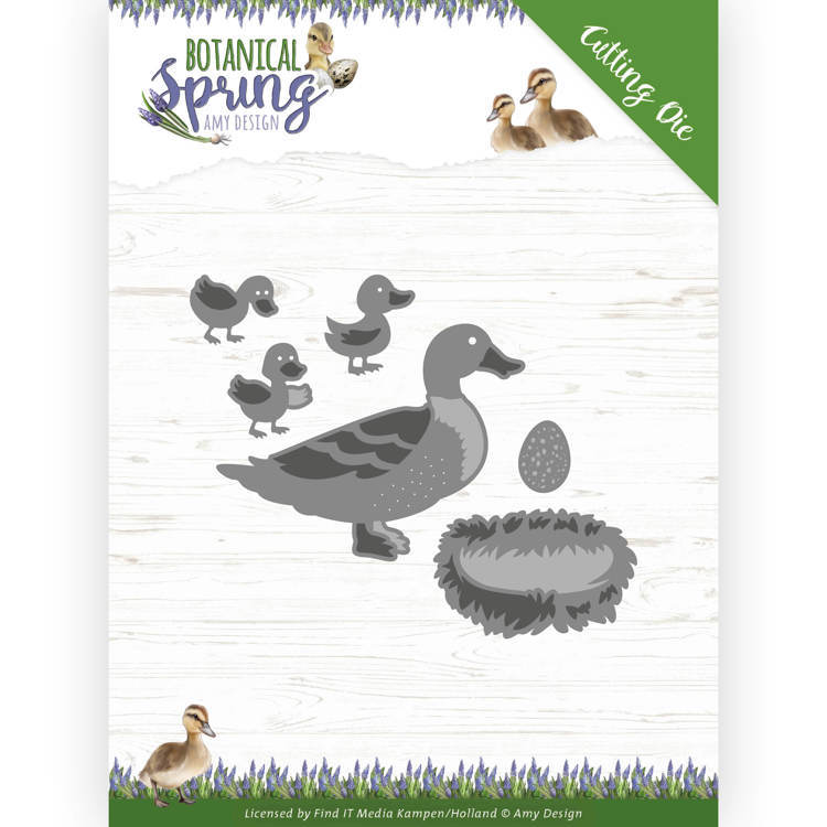 Dies - Amy Design - Botanical Spring - Some Ducks