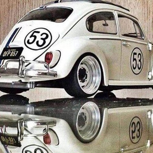 7183 diamond painting Herbie 40 x 50