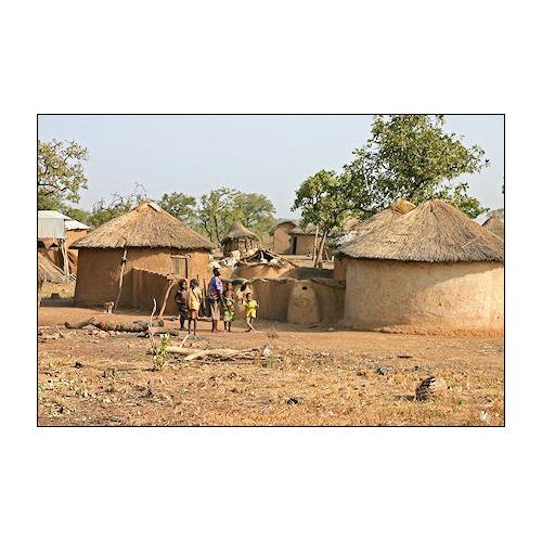 01-afrika diamond painting afrikaans dorp 40 x 50