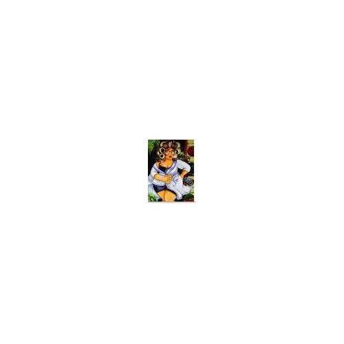 50624 diamond painting dikke dame avondkleed 30 x 40