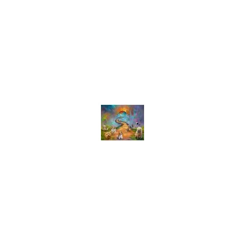 50943 diamond painting honden hemel 30 x 40