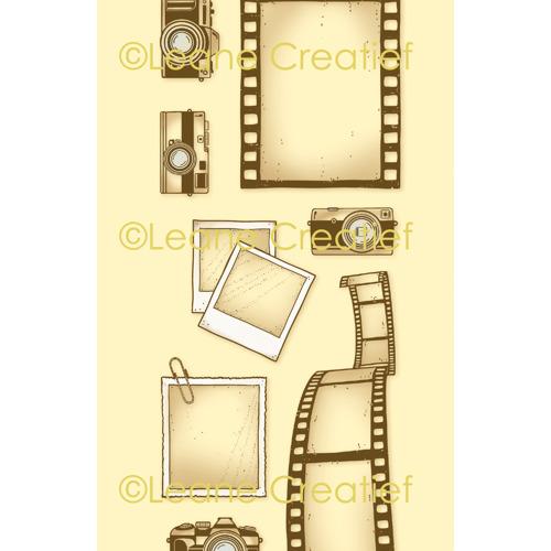 LeCreaDesign® deco clear stamp Cameras, filmstrips & fotos