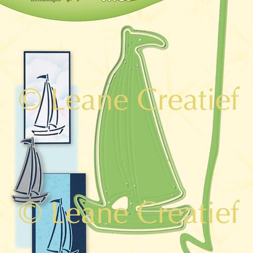 Leabilitie® Silhouet zeilboot snij en embossing mal