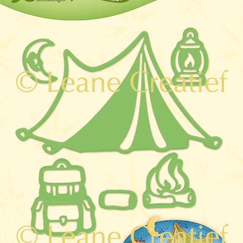 Leabilitie® Camping snij en embossing mal