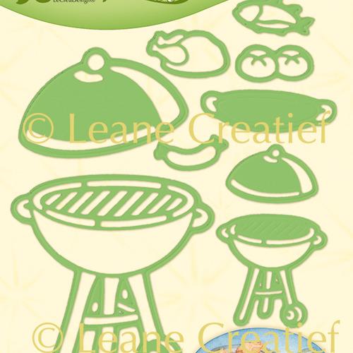 Leabilitie® Zomer BBQ snij en embossing mal