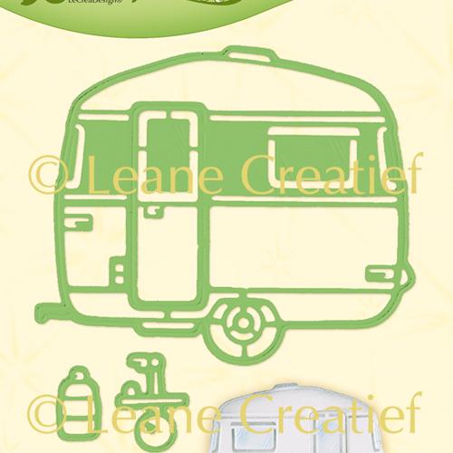 Leabilitie® Caravan snij en embossing mal