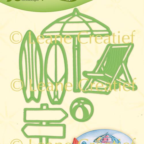 Leabilitie® Zomer aan zee snij en embossing mal