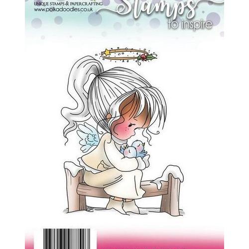 Polkadoodles stamp Winnie Snow tweet
