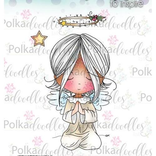 Polkadoodles stamp Winnie Blessings
