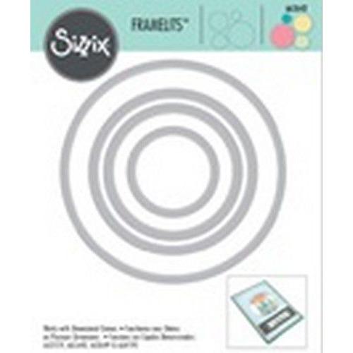 Sizzix Framelits Die Set 4PK Circles 663642 (03-2020)