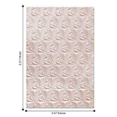 Sizzix - 3-D Textured Impressions Emb. Folder Geometric Lattice 664425 Jessica Scot (04-2020)