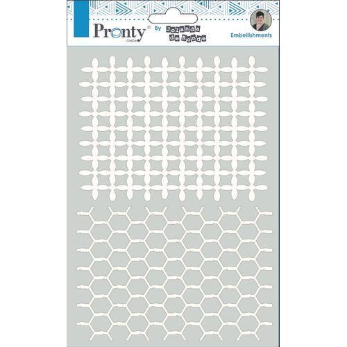 Pronty Chipboard Rasters A5 492.010.013 by Jolanda (03-20)