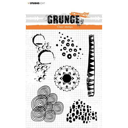 Studio Light Stamp Grunge Collection 4 0 nr 450 STAMPSL450 210x74mm (04-20)