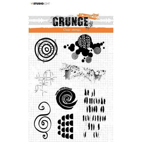 Studio Light Stamp Grunge Collection 4 0 nr 451 STAMPSL451 210x74mm (04-20)