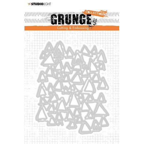 Studio Light Cutting and Emb. Die A6 Grunge Coll. 4.0 no.272 STENCILSL272 (04-20)