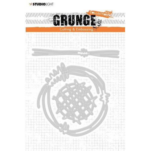Studio Light Cutting and Emb. Die A6 Grunge Coll. 4.0 no.273 STENCILSL273 (04-20)