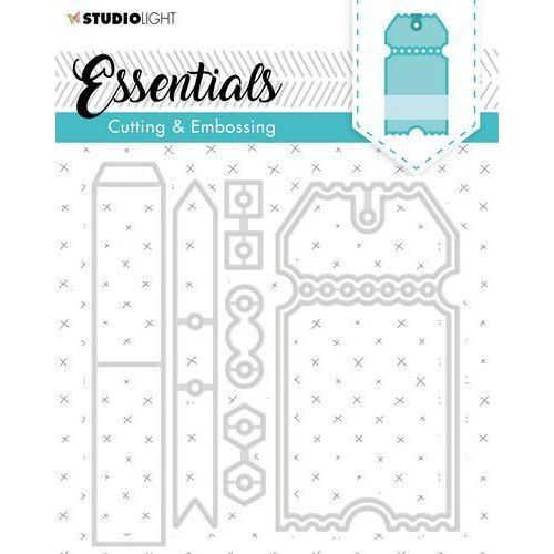 Studio Light Embossing Die Cut Essentials no.276 STENCILSL276 (04-20)