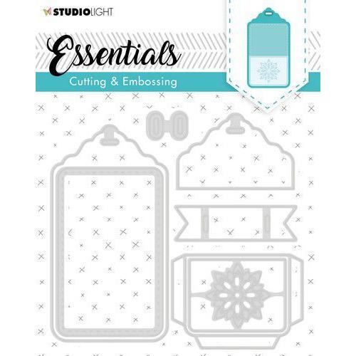 Studio Light Embossing Die Cut Essentials no.277 STENCILSL277 (04-20)