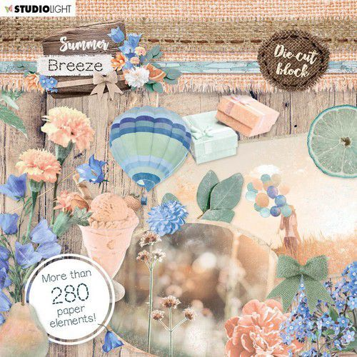 Studio Light Die Cut Book 15x15 Summer Breeze no.661 EASYSUB661 (04-20)