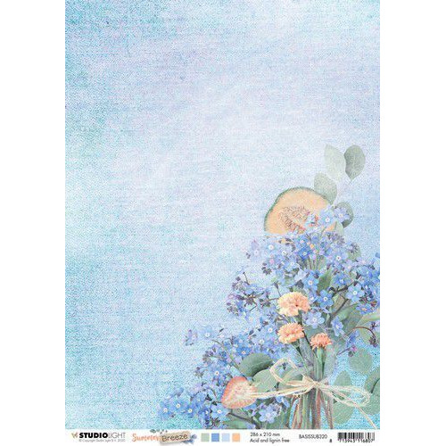 Studio Light Basis A4 Achtergrondpapier Summer Breeze no.320 BASISSUB320 (04-20)
