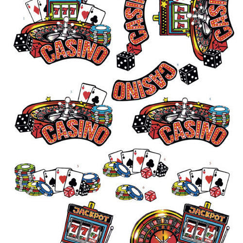 3D Cutting Sheet - Yvon's Art - Casino