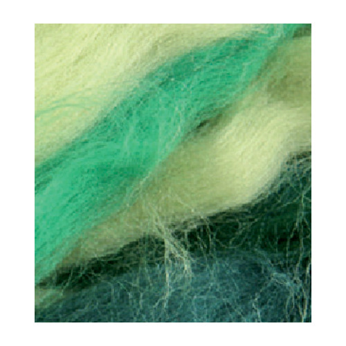 German merino wool mix pack, Green/Darkgreen