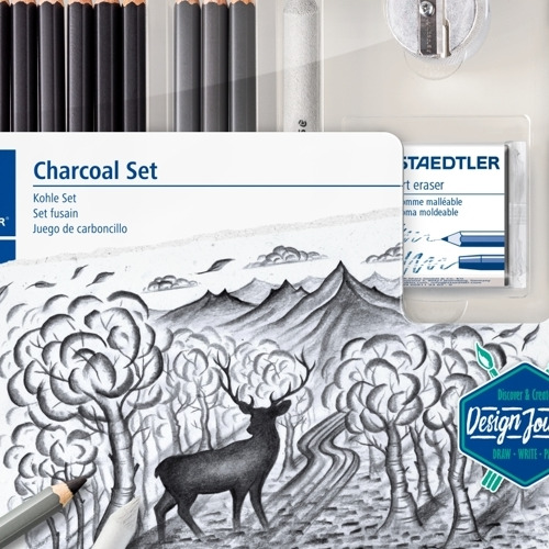 Mixed Charcoal set (o.a. 100/100C/5426) DJ