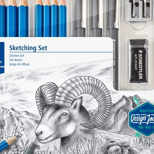 Mixed sketching set (o.a. 100/100J/308) DJ