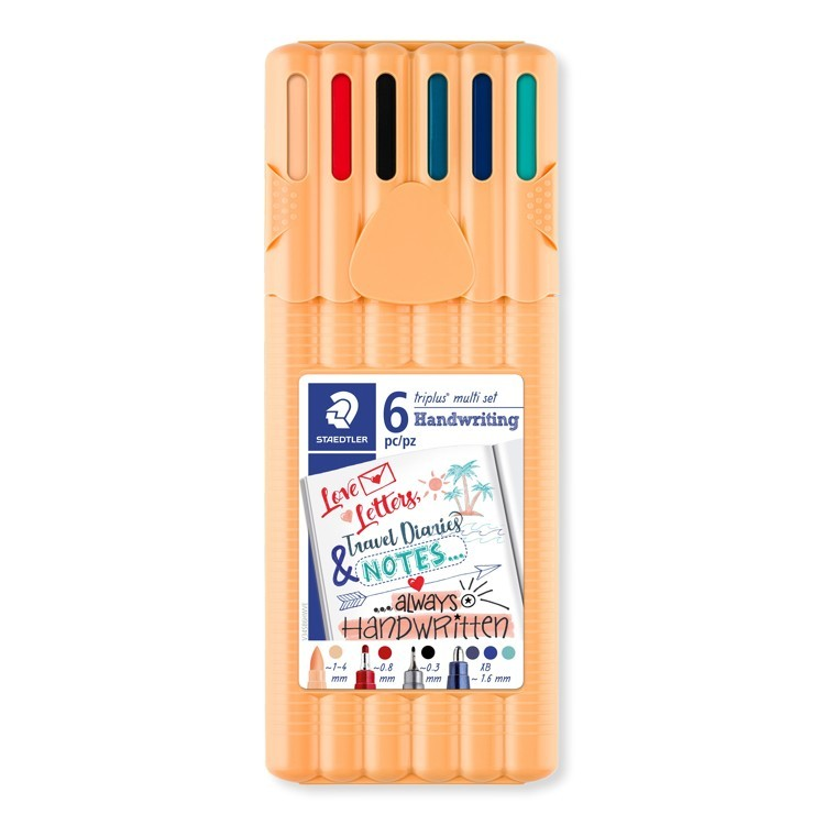 triplus multi set handwriting 6 st
