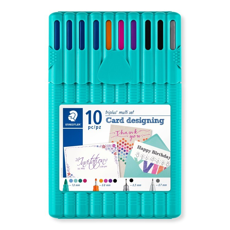 triplus multi set card designing 10 st