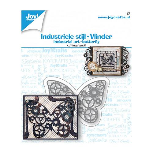 Snijstansmal - Industriel vlinder