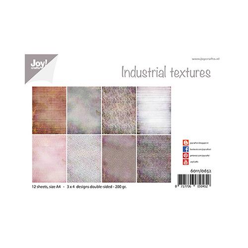 Papierset - Design - Industrieel texturen